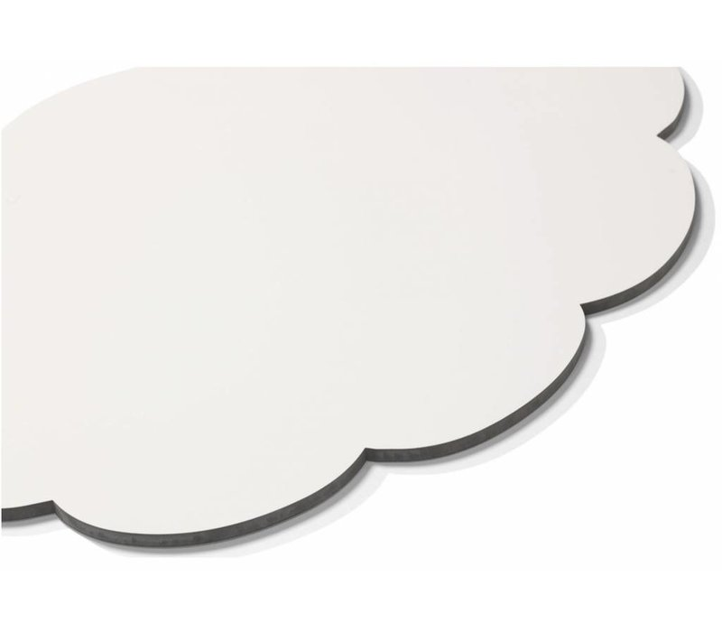 Chameleon whiteboard gedachte-bel