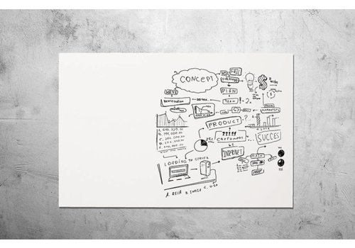 Smith Visual Chameleon Frameless Whiteboard