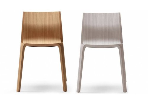Ondarreta Silu chaises en frêne teinté