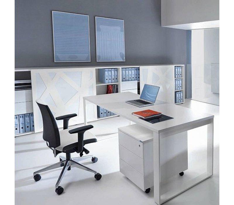 Ogi-Q Bureau met aanbouw / L-bureau