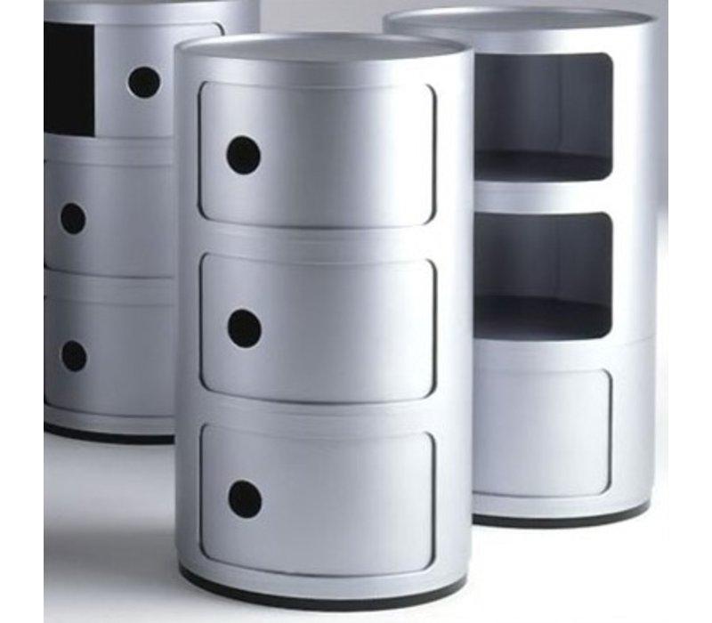 Componibili 3 schuifdeuren van Kartell in 4 kleuren beschikbaar -