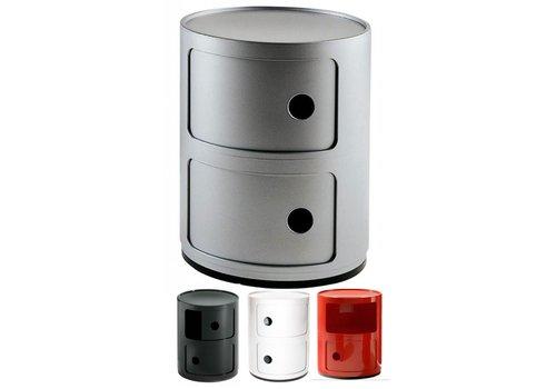 Kartell-designstoelen Componibili 2 portes