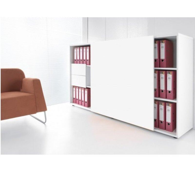 Archief Kast Met Schuifdeuren.Zig Zag Kast Met Schuifdeur Brand New Office