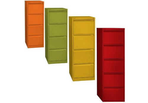Bisley Classeur monobloc - 4 tiroirs -Color