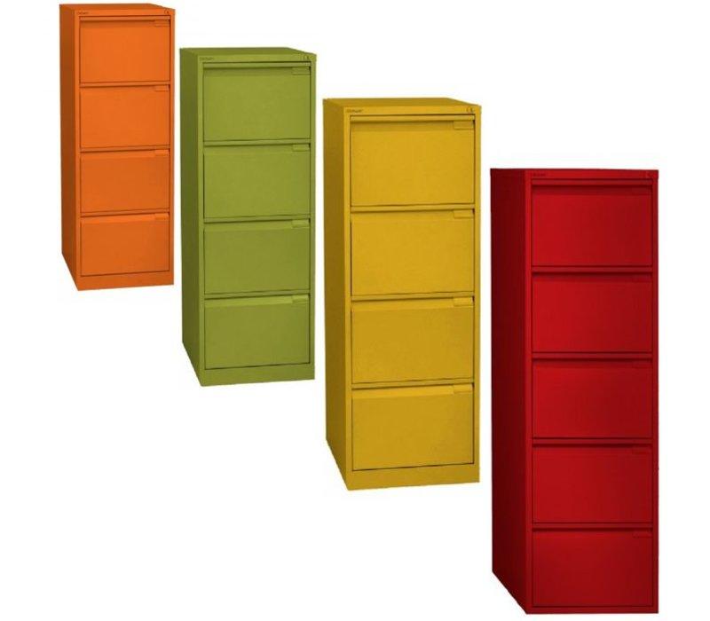 Ladenkast monoblok met 4 laden