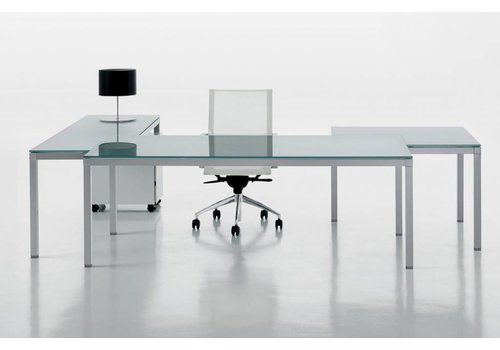 Table de bureau design pas cher table en verre table laquée