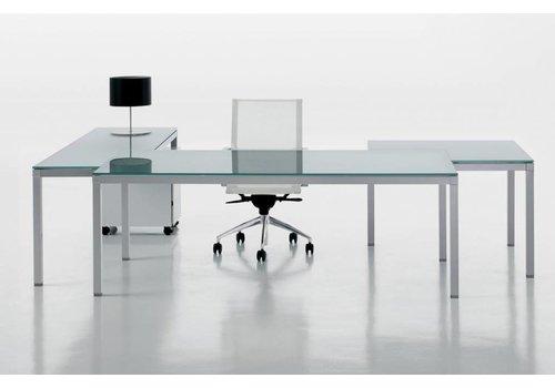 Frezza Link glazen bureau