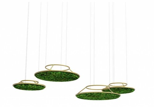 Green Mood Mos akoestische Circles Unit - hangend