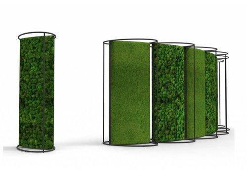 Green Mood Cloisons acoustiques mobiles de mousse stabilisé