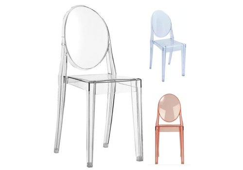 Kartell Victoria Ghost stoel in transparant