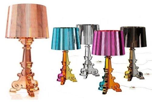 Kartell Bourgie lamp Metaalkleuren