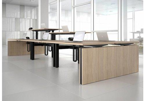 Narbutas Motion système d'agencement de bureaux assis debout