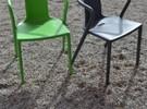 Air armchair stoel