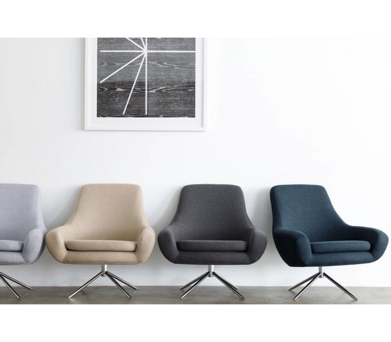 Lage Lounge Stoel.Noomi Lounge Stoel Fauteuil Brand New Office