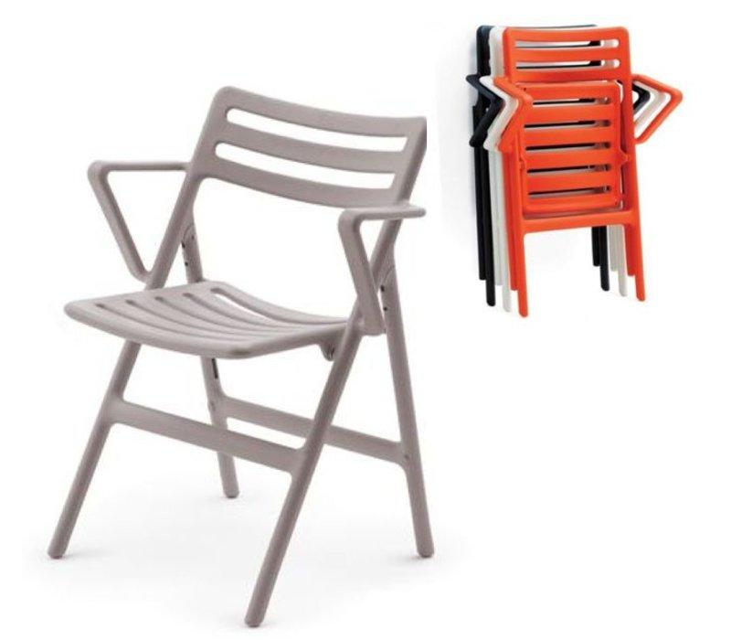 Folding Air chair met armleuning
