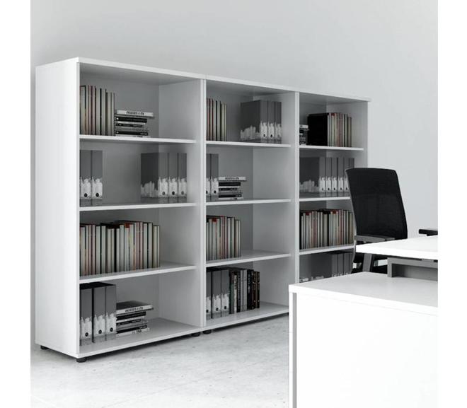 In een open kast kunnen mappen gemakkelijk geordend worden. – Brand New Office