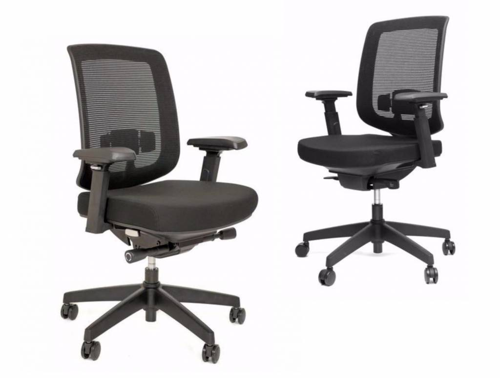 Ergo bureaustoel met armleuning brand new office