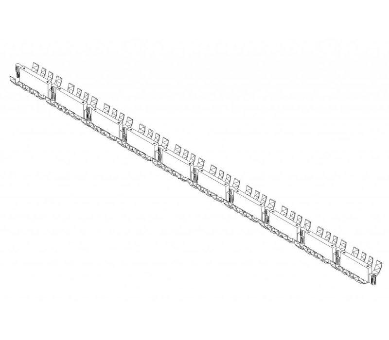 Cableworm horizontaal
