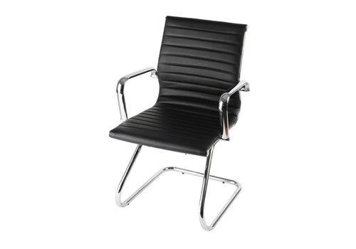 BNO Torno chaise visiteur en cuir Skai