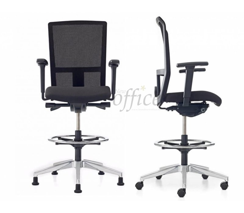 Se7en net counter fauteuil haut