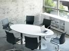 ST-Meeting ovale tafel