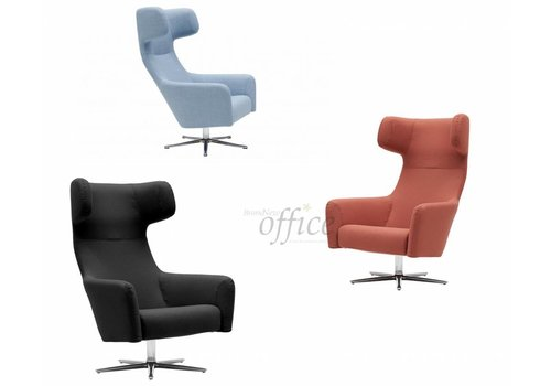 Softline Havana Swivel Wing Chair