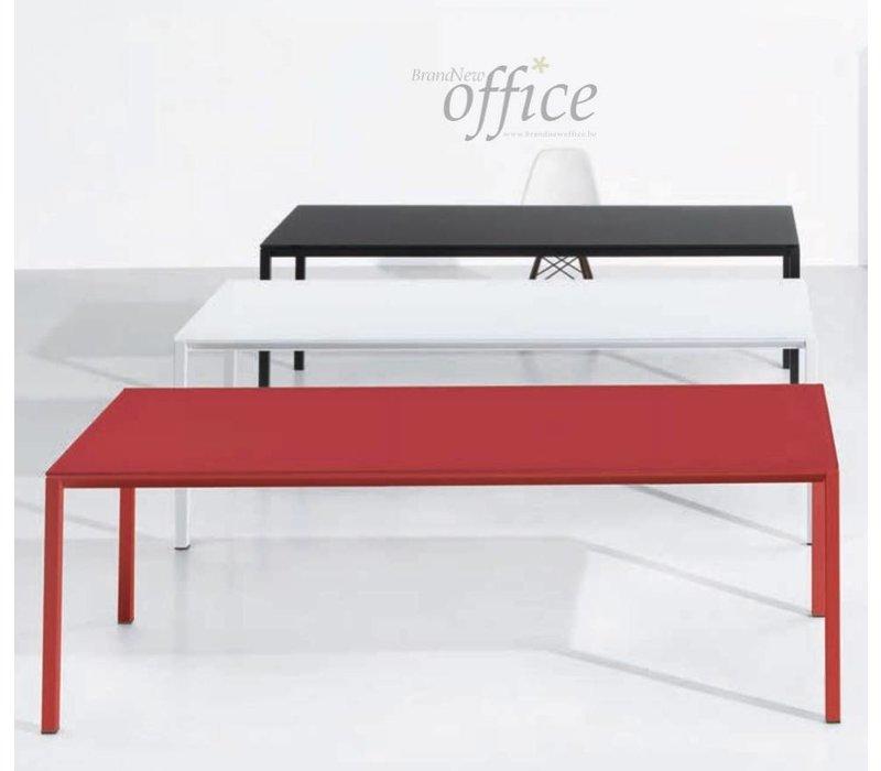 Minimum bureau en verre