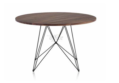 Magis XZ3 table ronde noyer