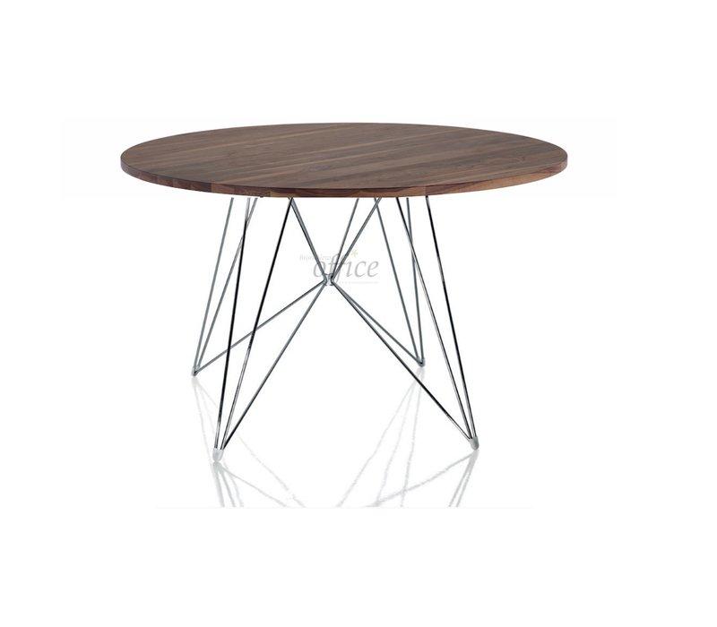 XZ3 table ronde noyer