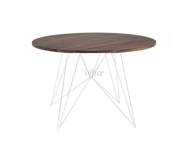 XZ3 ronde tafel walnoot