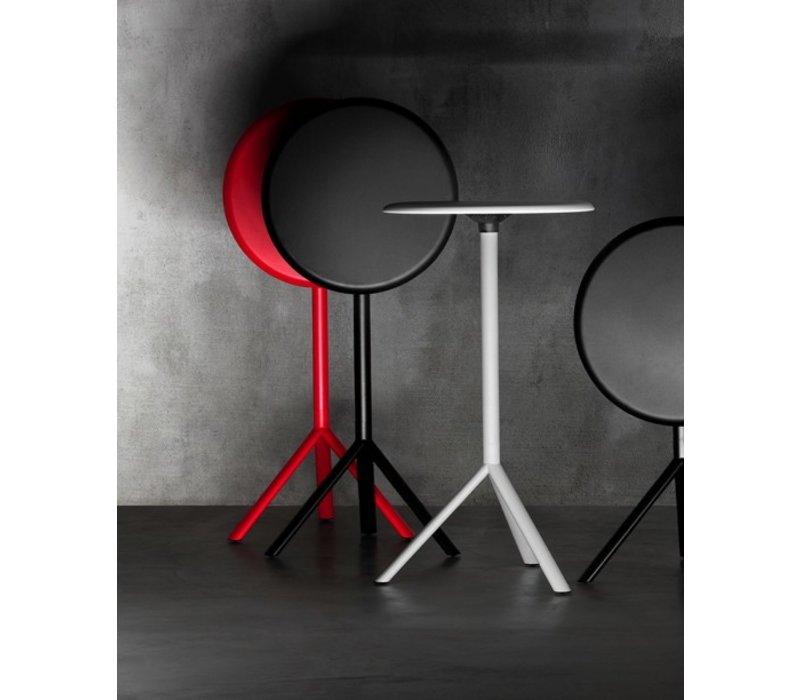 Miura table de bar métal