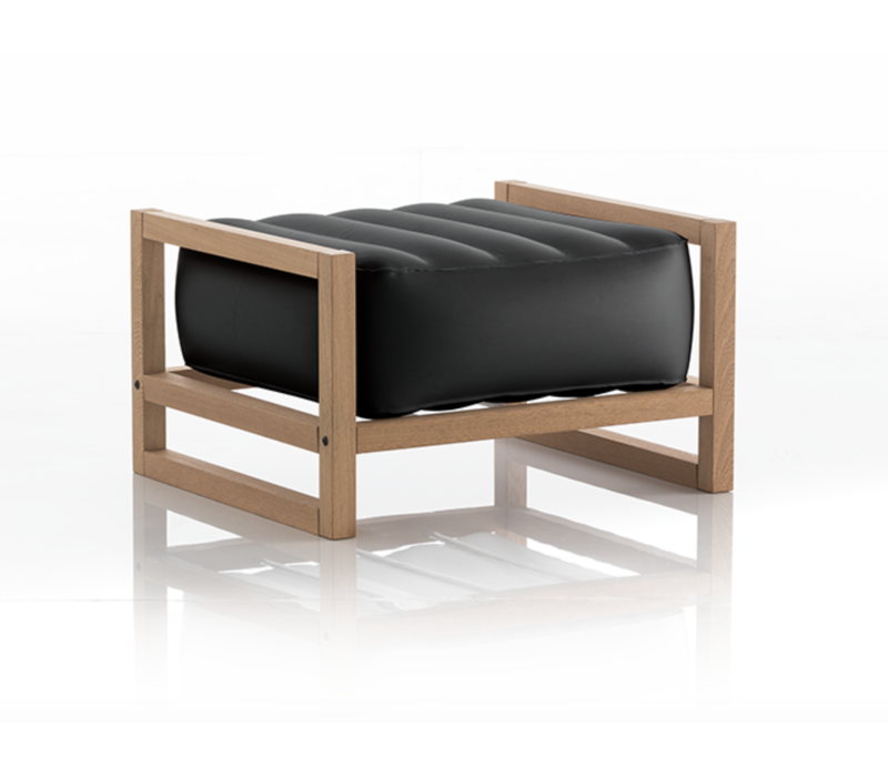Yoko pouf Wood