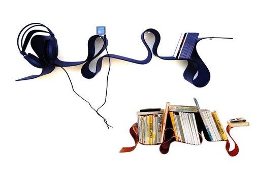 Kartell-designstoelen Lovely Rita boekenrek