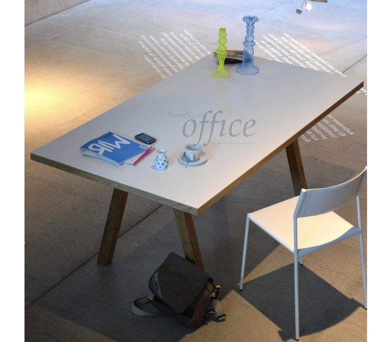 Artwork eiken tafel