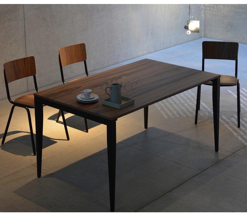 Jupiter uitschuifbare tafel uit hout