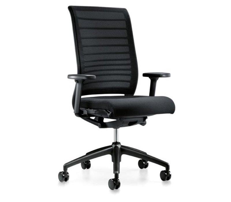 Hero bureaustoel met armleuning
