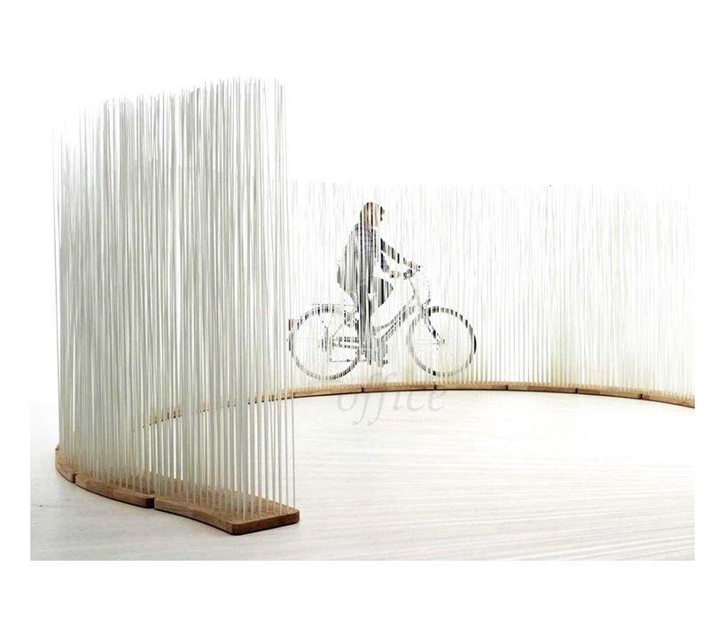 Sticks diviseur d'espace courbe