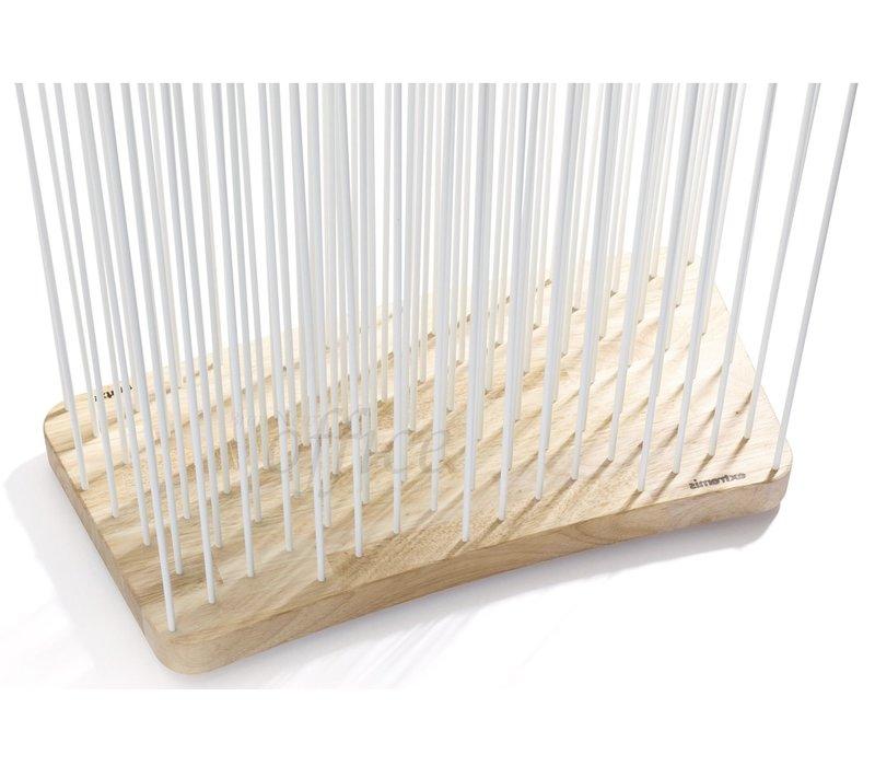 Sticks ruimteverdeler gebogen