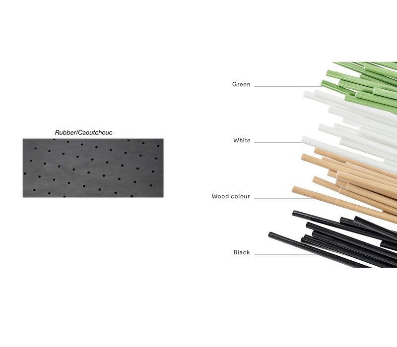 Sticks diviseur d'espace extérieur