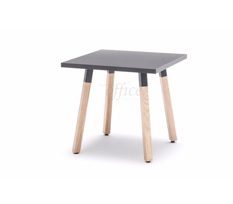 Ogi Wood table basse carrée