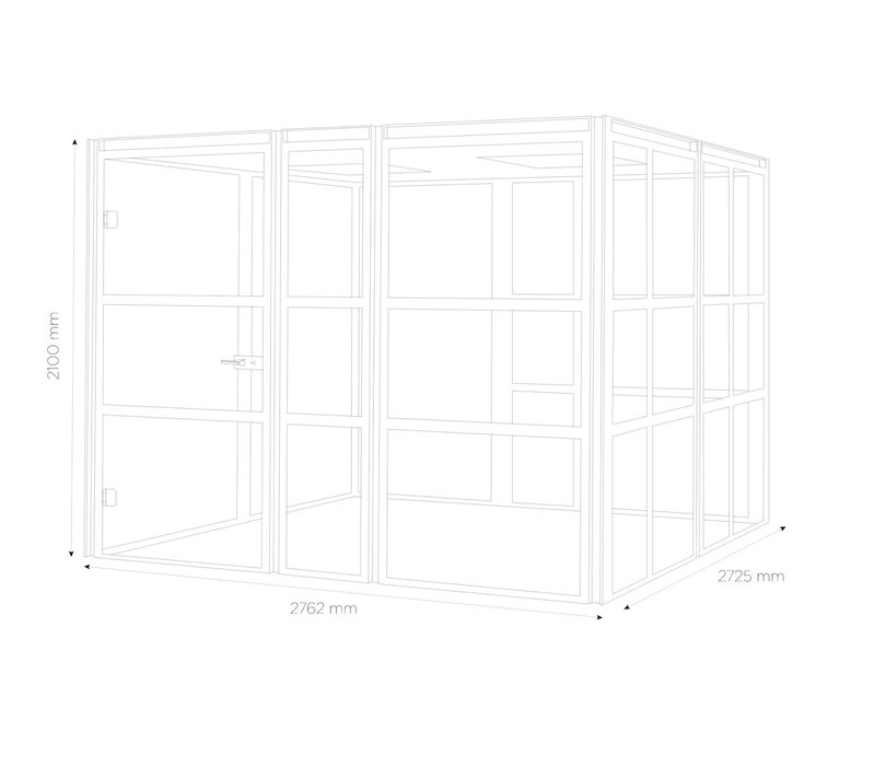 Grote akoestische vergaderruimte - Booth