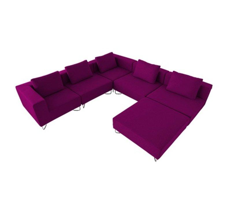 Lotus modulaire fauteuil