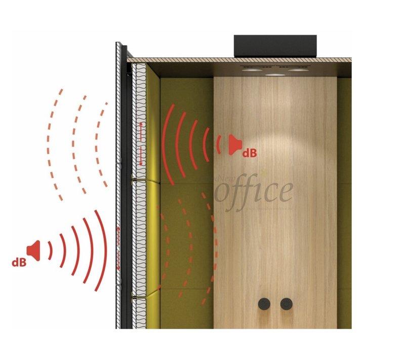 Silent room akoestische box