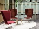 Tango Lounge chaise acoustique pivotante