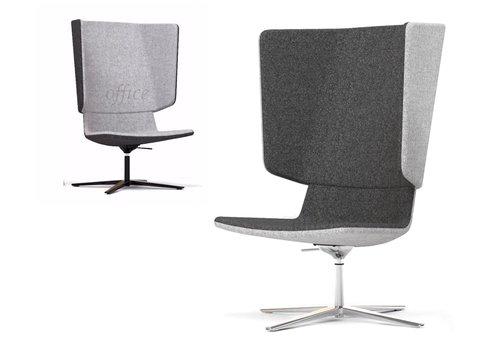 Narbutas Tango Lounge swivel akoestische stoel