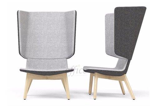 Narbutas Tango Lounge akoestische stoel