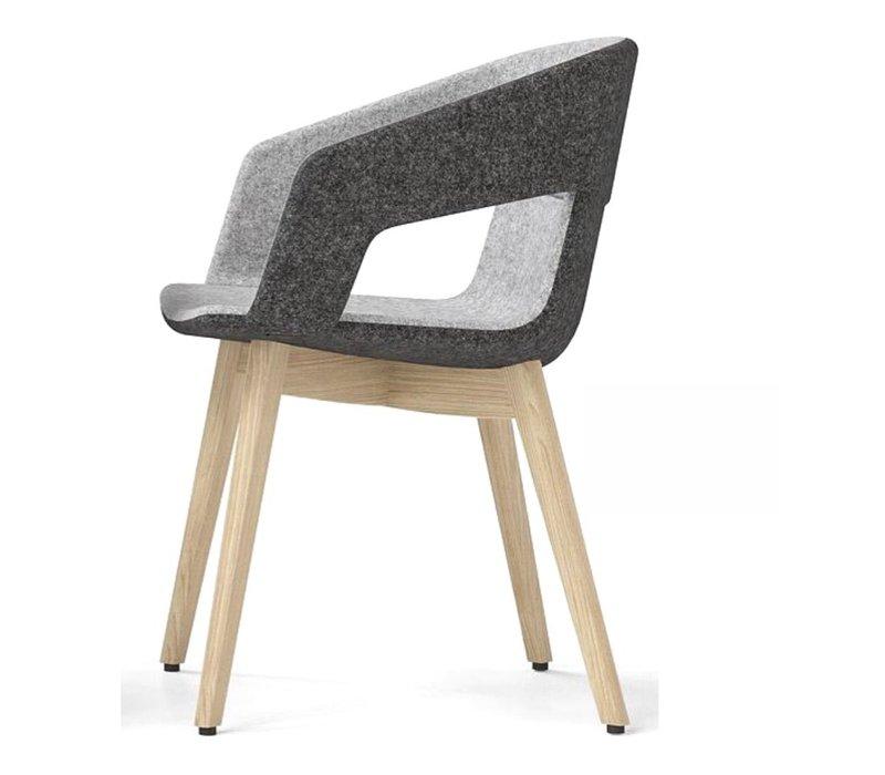 Tango chaise frêne naturel