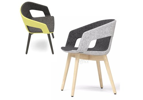 Narbutas Tango chaise frêne naturel