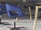 Tango Chaise pivotante