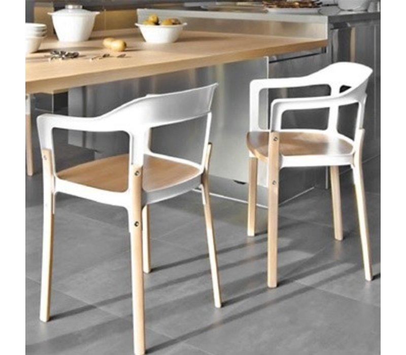 Steelwood stoel in beukenhout